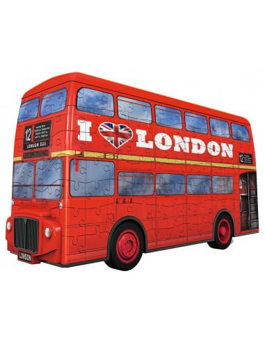 Puzzle 3D bus londonien - Ravensburger