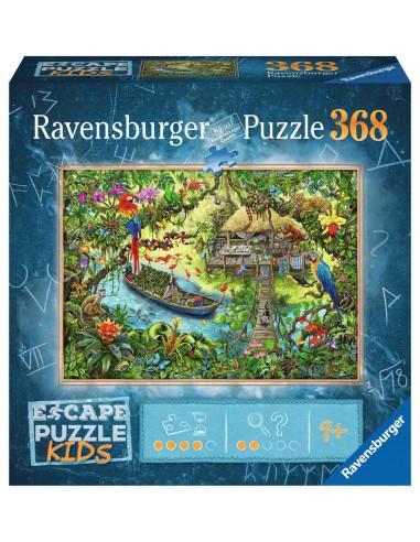 Escape puzzle Kids Un safari dans la...