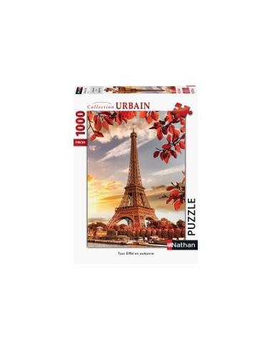 Puzzle 1000 pièces Tour Eiffel en...