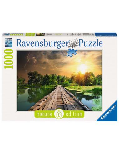 Puzzle 1000 pièces Lumière mystique -...