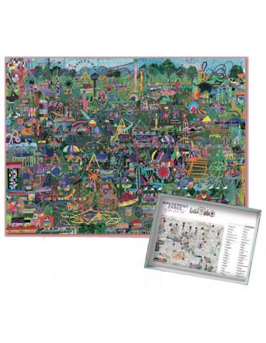 Puzzle 1000 pièces amusements of the...