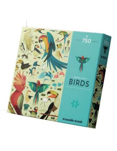 Puzzle 750 pièces world of birds