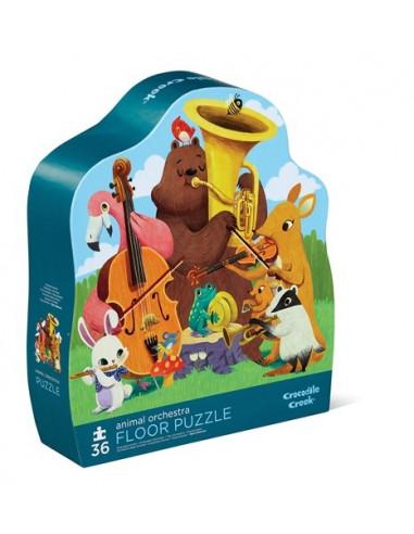 Puzzle orchestre des animaux 36 pièces