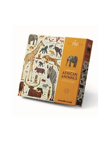 Puzzle 750 pièces world of African...