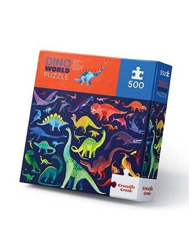 Puzzle dino world 500 pièces