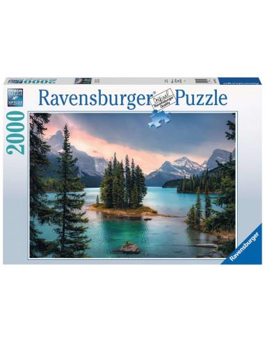 Puzzle 2000 pièces ile de l'Esprit...