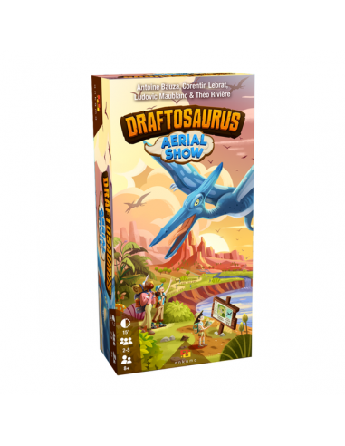 Draftosaurus Extension Aerial Show