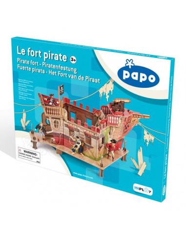 Le fort de pirate - décor Papo