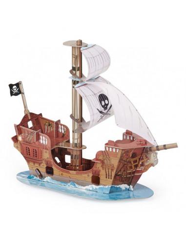 Le bateau de pirate - décor Papo