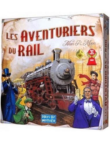 Les aventuriers du rail - jeu Asmodée