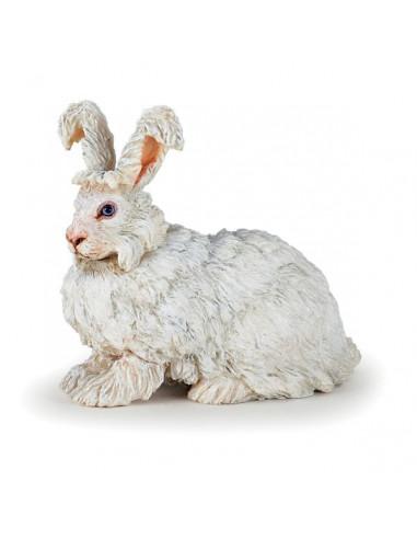 Figurine lapin angora - Papo