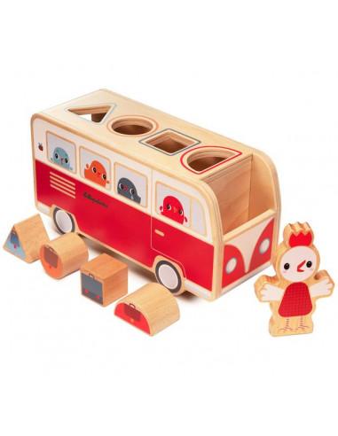 Bus des formes Paulette - Lilliputiens