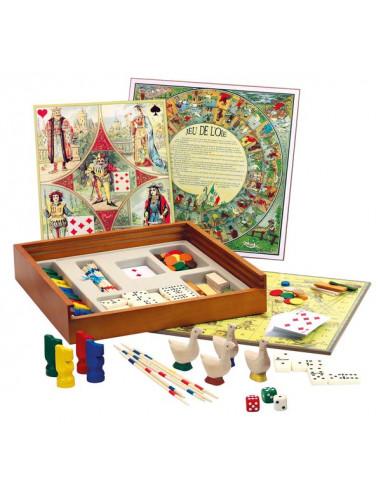 Coffret de jeux tradition - Jeujura