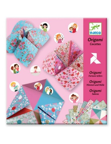 Origami cocottes à gages - Djeco