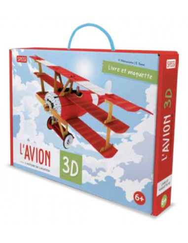 Maquette avion 3D - Sassi