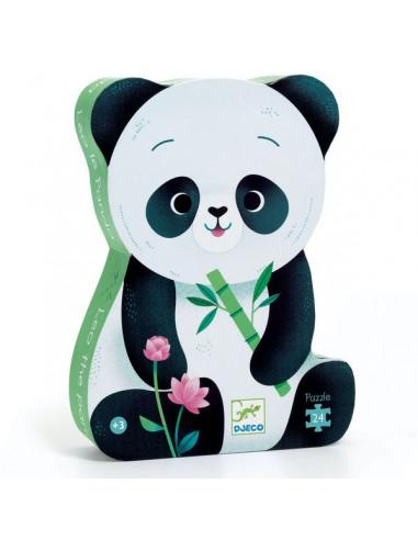 Puzzle 24 pièces Léo le panda - Djeco