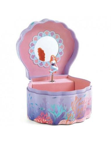 Boîte à bijoux sirène enchantée - Djeco