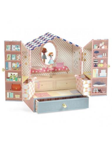 Boîte à bijoux Tinou Shop - Djeco