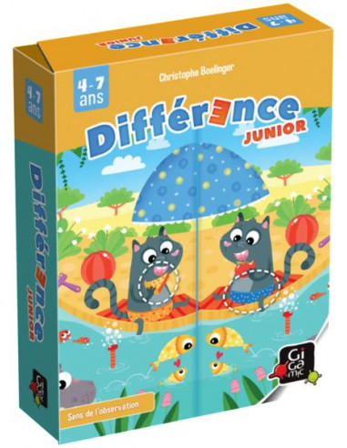 Différence junior - jeu Gigamic
