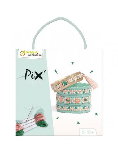 Pix trésor bracelet bleu - Avenue...
