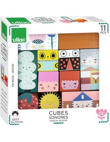 Cubes sonores Suzy Ultman - Vilac
