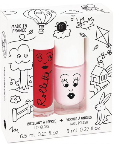 Coffret KIDS COTTAGE vernis et...