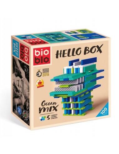 BIOBLO Hello box océan 100 briques