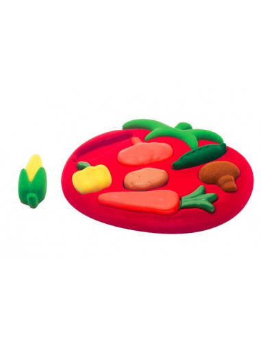 Puzzle éducatif légumes - Rubbabu