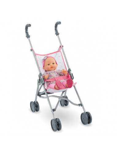 Poussette canne rose - Corolle