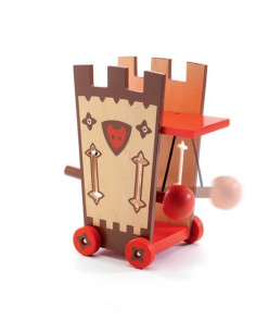 Figurine chevalier Arty Toys  Darius & Ze attack tower