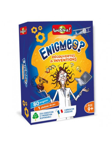 Enigmes Découvertes et inventions -...