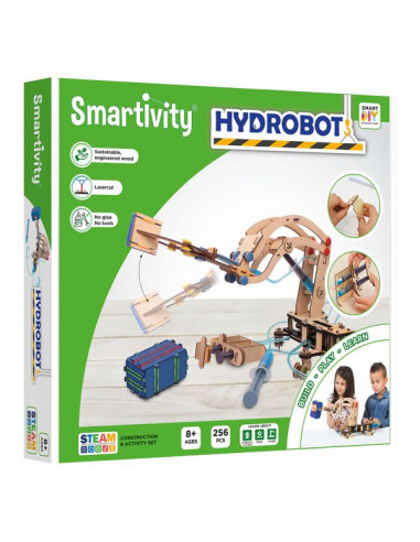 HydroBot Grue hydraulique - Smartivity