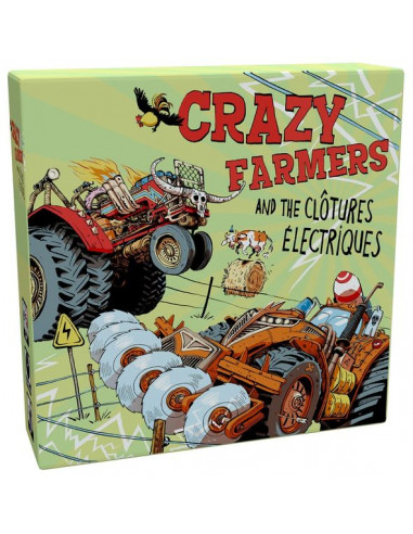 Jeu Crazy Farmers And The Clôtures...