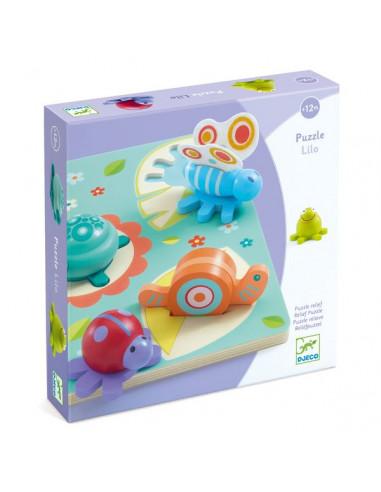 """Puzzle Bois tortue et amis """"lilo"""" -..."""