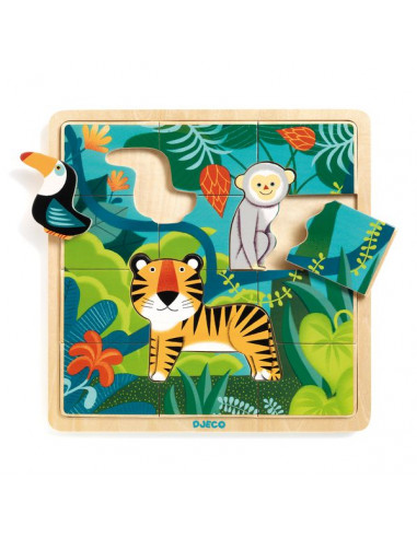 Puzzlo Jungle - Djeco