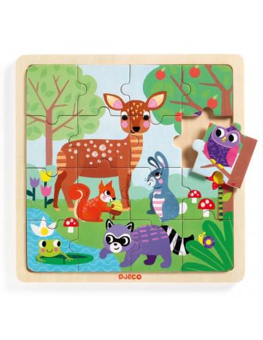 Puzzlo Forest - Djeco