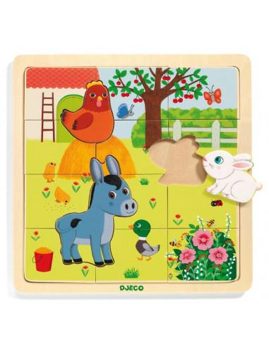 Puzzlo Farm - Djeco