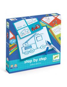 Apprendre à dessiner Step by step Arthur and Co