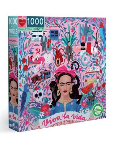 Puzzle viva la vida 1000 pièces - Eeboo
