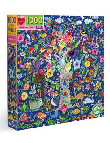 Puzzle tree of life 1000 pièces - Eeboo