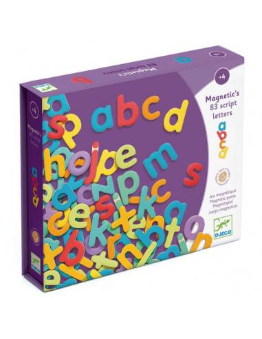 83 lettres magnétiques - Djeco