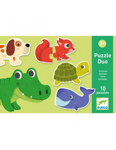 Puzzle duo animaux