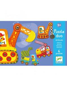 Puzzle duo articulo véhicules