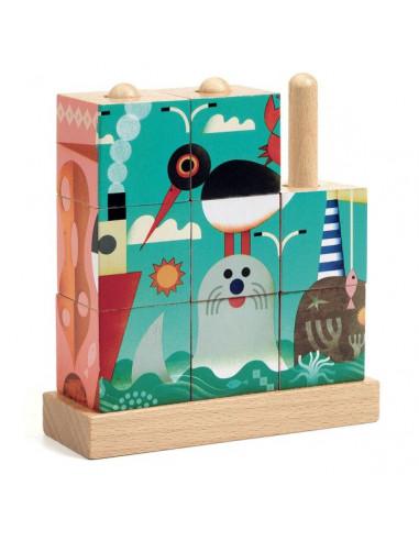 Puzzle en bois Puzz up Sea - Djeco