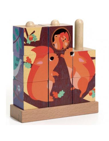 Puzzle en bois Puzz up Forest - Djeco
