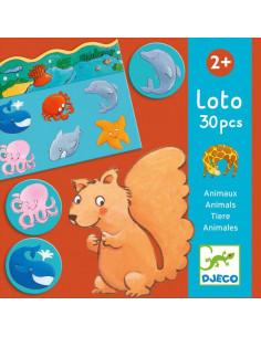 Loto des animaux 30 pièces