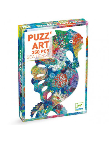 Sea horse Puzz'art 350 pièces - Djeco
