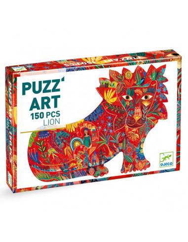 Lion Puzz'art 150 pièces - Djeco