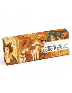 Puzzle gallery unicorn garden 500 pièces