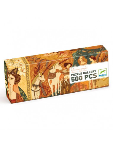 Puzzle gallery unicorn garden 500...